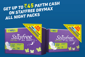 Paytm StayFree Offer