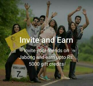 jabong Invite And Earn Offer