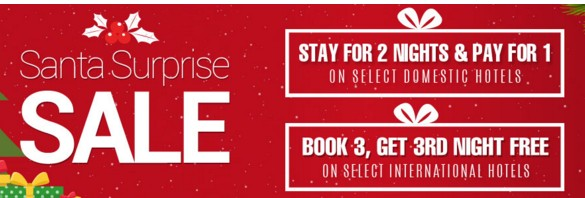 Goibibo Santa Surprise Sale