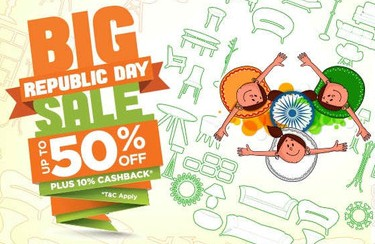 Pepperfry Republic Day sale