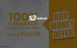 Mobikwik FULLON 100% Cashback offer