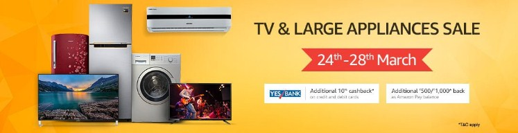 Amazon Tv Appliances Sale, Amazon Tv Appliances Sale Deals, Amazon Tv Appliances offers