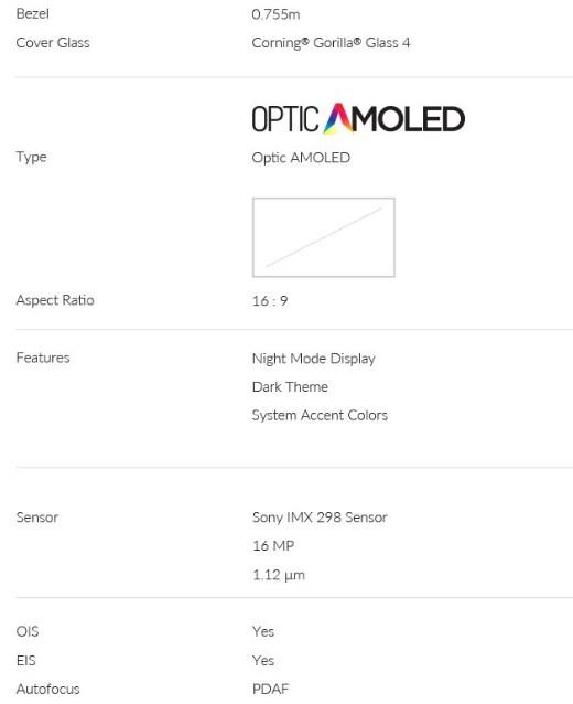OnePlus 3T Midnight Register amazon