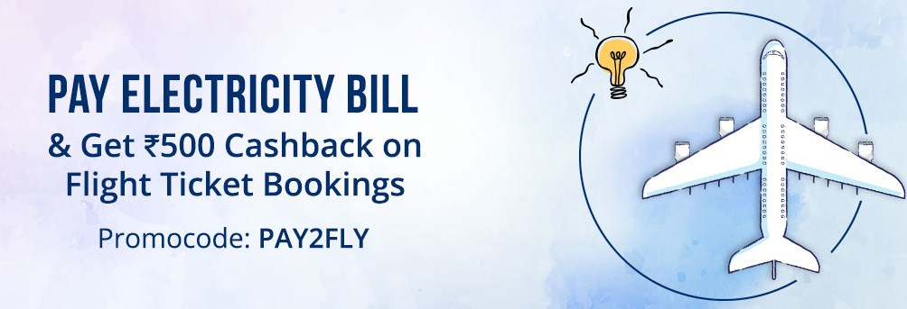 Paytm Pay2fly promo, get Rs 500 cashback on flights booking