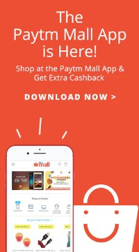 Paytm Mall Rs 500 Cashback