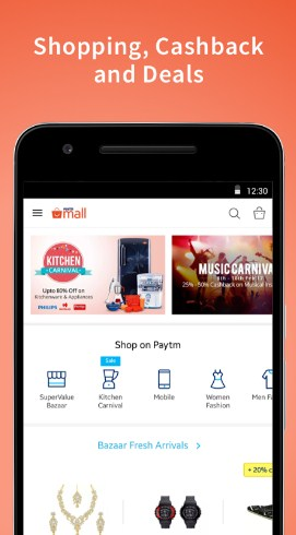 Paytm Mall Rs 10 Cashback Rs 100 Recharge