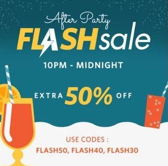 Myntra After Party Flash Sale