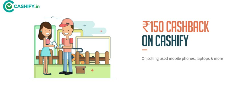 Freecharge Cashify offer