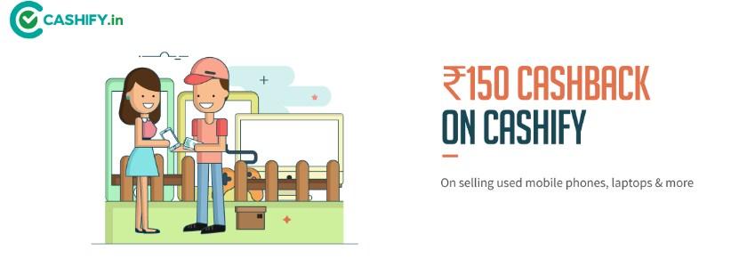 Freecharge Cashify offer