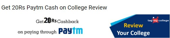 Tagmycollege paytm Rs 20 Survey