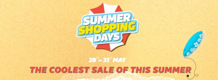 Summer Shopping Days Sale