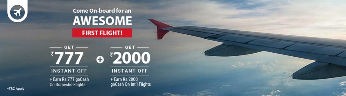 goibibo flynew FLYINT Flight BOoking Offer