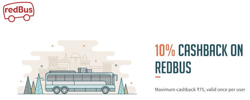 Redbus freecharge offer