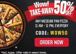 Pizzahut WOW50