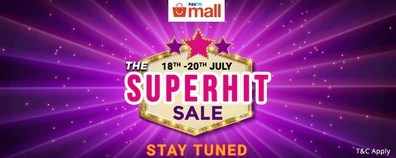 PaytmMall The Big SuperHit Sale