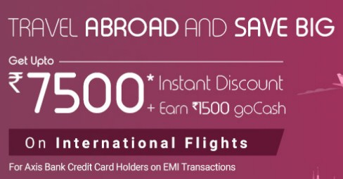 Goibibo International Flight Offer