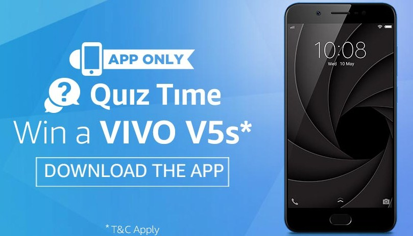 Amazon Vivo App Quiz answer