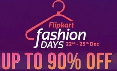 Flipkart Fashion Days Sale