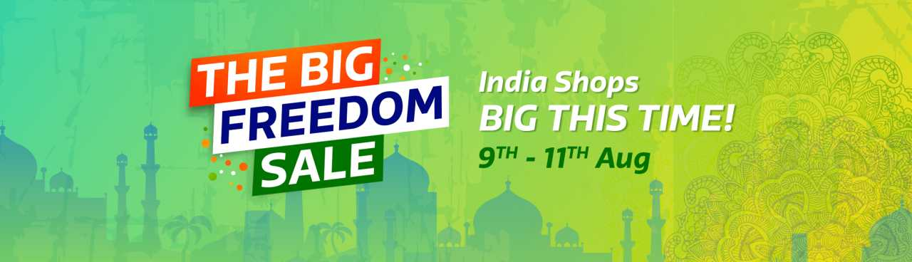 Flipkart Big Freedom Sale deals