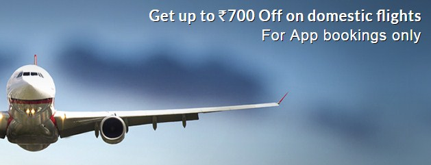 yatra Rs 700 Off on Domestic Flights