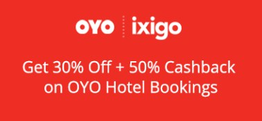 ixigo OYO Hotel Bookings