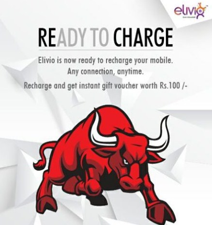 Elivio Offer Rs 100 Flipkart Voucher On Recharge Of Rs 100