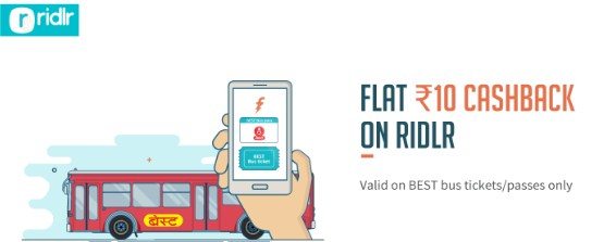 Freecharge Ridlr Offer