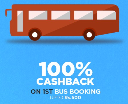 Niki 100% Cashback bus Booking