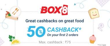 Box PhonePe 50% Cashback