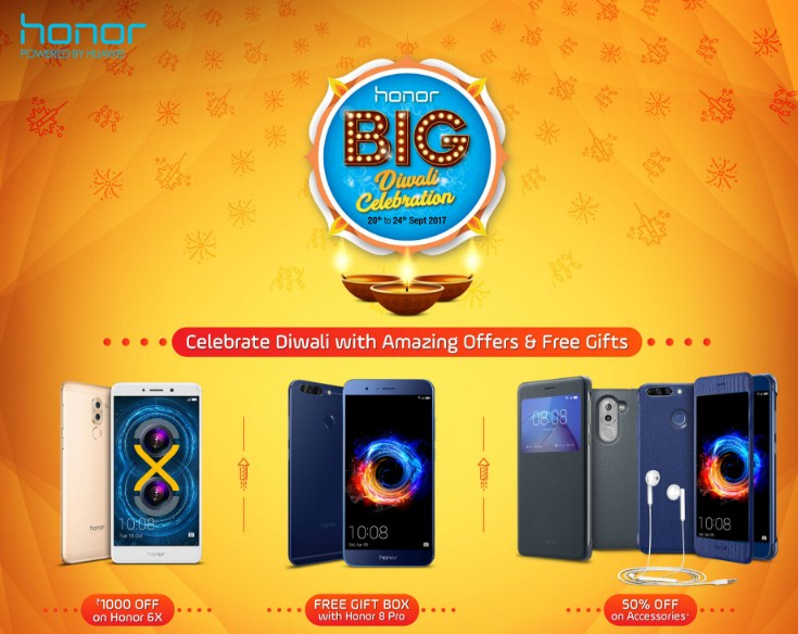 Honor big diwali sale