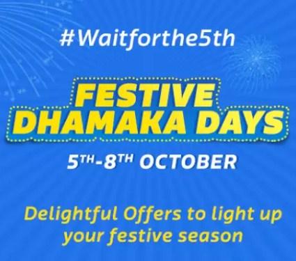Flipkart Festive Dhamaka Sale