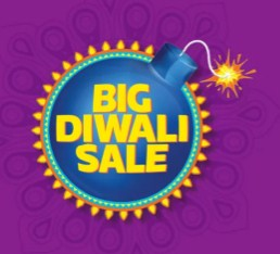 Flipkart Big Diwali Sale 14 - 17th Oct - Upto 80% off On Everything
