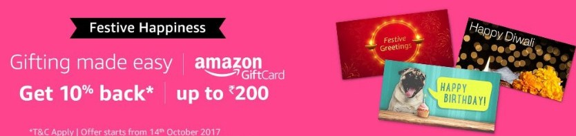 Amazon Email Giftcard Offerd