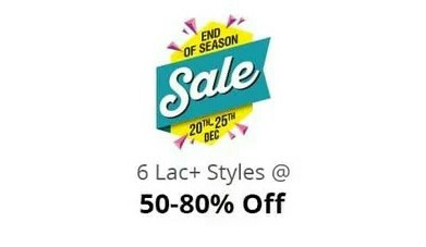 Shopclues End Of Season Sale