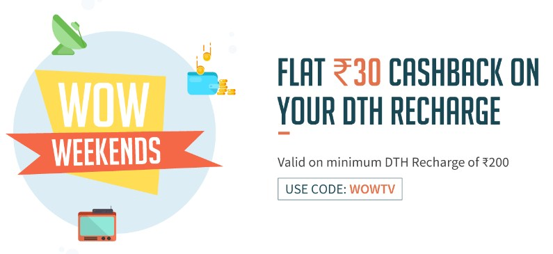 Freecharge DTH offers