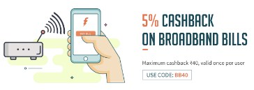 Freecharge Offer BB40