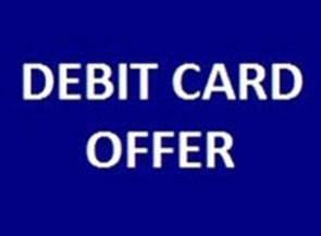 HDFC Debit Card Offer