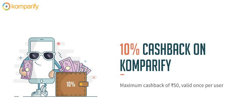 freecharge komparify offer