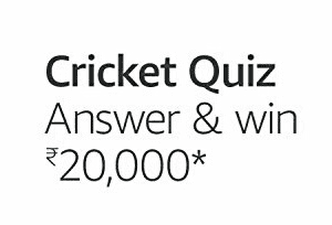 Amazon Cricket Quiz Answers