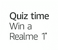 Amazon Realme Quiz Answers