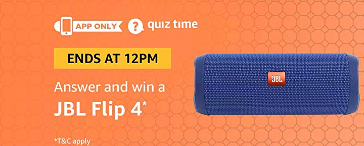 Amazon JBL Flip 4 Quiz Answers