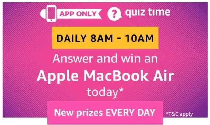 Amazon Apple MacBook Air Quiz Answers