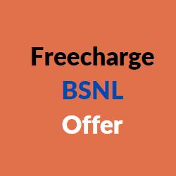 freecharge bsnl offer