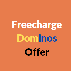 freecharge dominos offer
