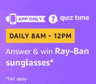 Amazon Ray ban Sun Glasses Quiz Answers