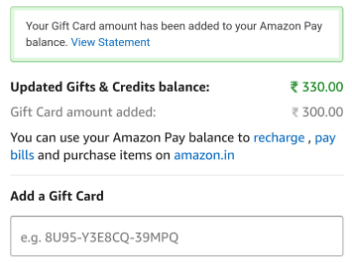 ICICI Amazon Offer
