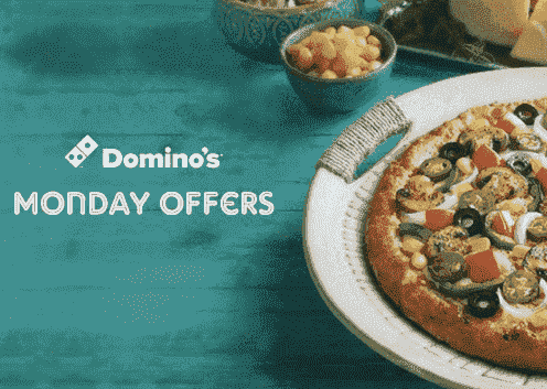 Dominos Monday Offer