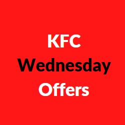 kfc wednesday offers