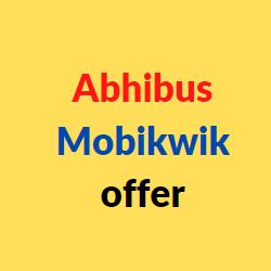abhibus mobikwik offer