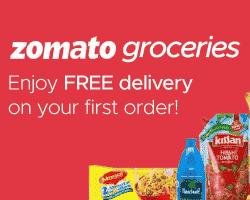 Zomato Free Delivery Code